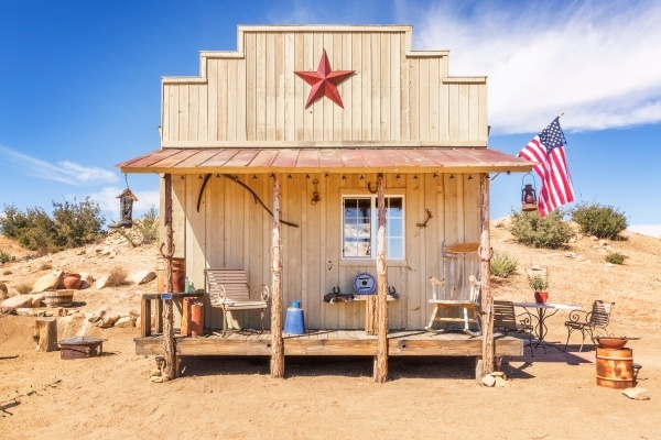 Rustle Up $120K to Buy This Tiny Wild West House in Pioneertown