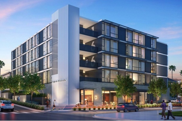 Renderings Released for Homeless Development Made of Shipping Containers
