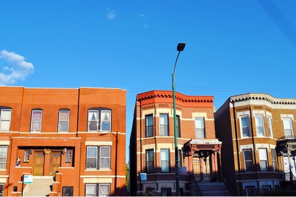 What is a Chicago two-flat?