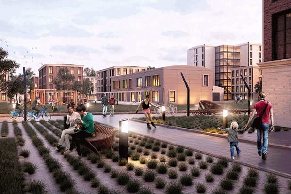 Title photo - Vision for Residential Neighborhood at South Works Site Falls Through