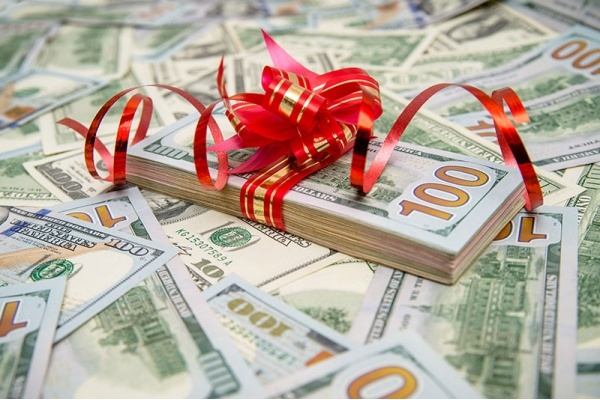 Can you ask for down payment money as a Christmas gift?