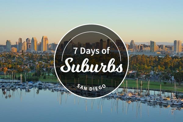 6 San Diego Suburbs With the Best Downtowns