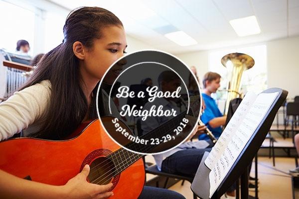 Good Neighbor Spotlight: Bay Area Youth Music Society (BAYMS)