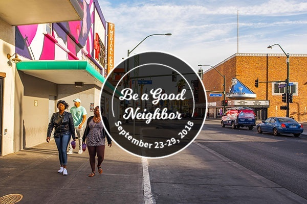 How to be a Good Neighbor in Las Vegas