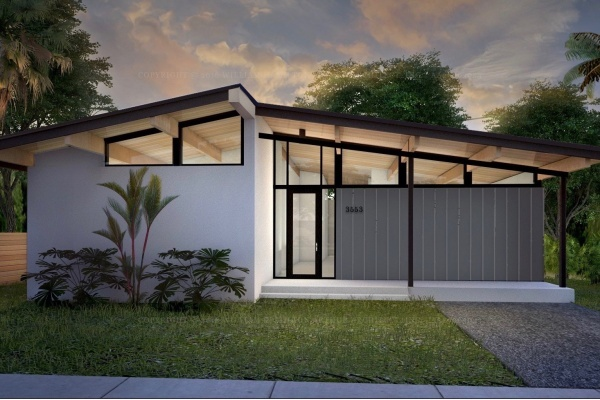 'Glass House Project' Bringing Stylish, Midcentury Homes to Coconut Grove, Miami