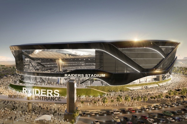 Raiders' Proposed Las Vegas NFL Stadium Offers Sleek Design, Strip Views