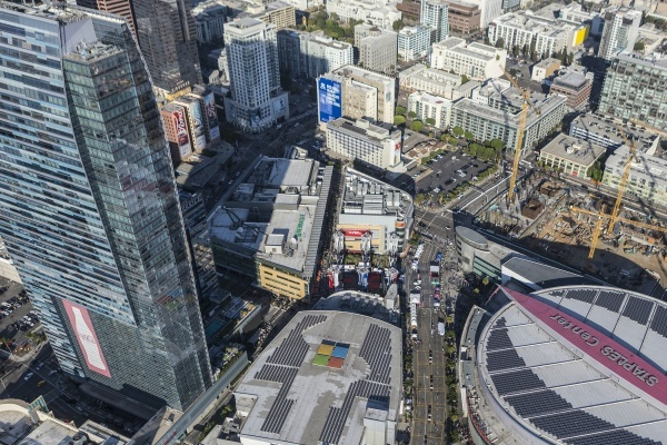 66-Story Tower Proposed Next to Hotel Figueroa in Downtown LA