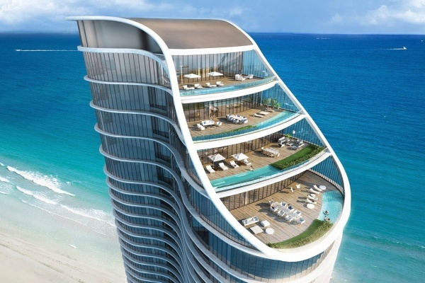 Ritz-Carlton Luxury Condo Project in Sunny Isles Beach, Miami Opens New Sales Center
