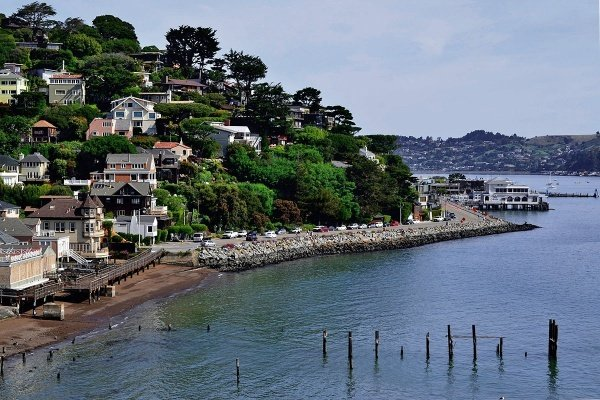 Sausalito, California, neighborhood