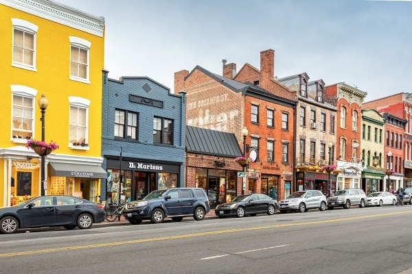 4 Cool Neighborhoods in D.C.