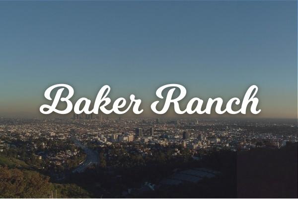 Community Spotlight: Baker Ranch