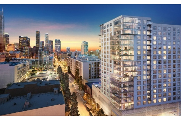 New Downtown LA Condo Tower Comes With Drone Landing Pad