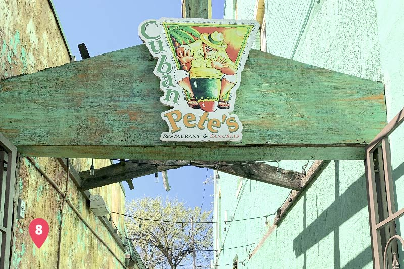 Cuban Pete's, a restaurant local to Montclair, New Jersey..