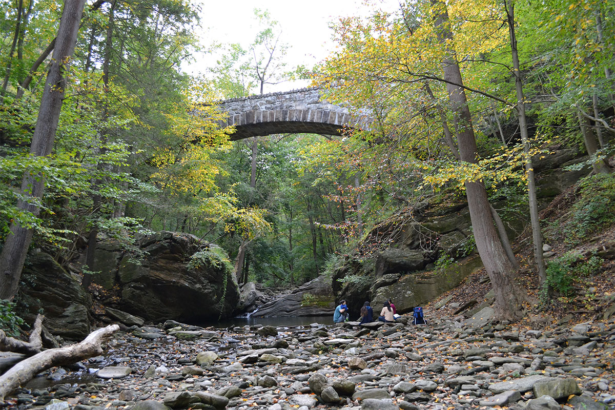 Wissahickon Creek in Philadelphia