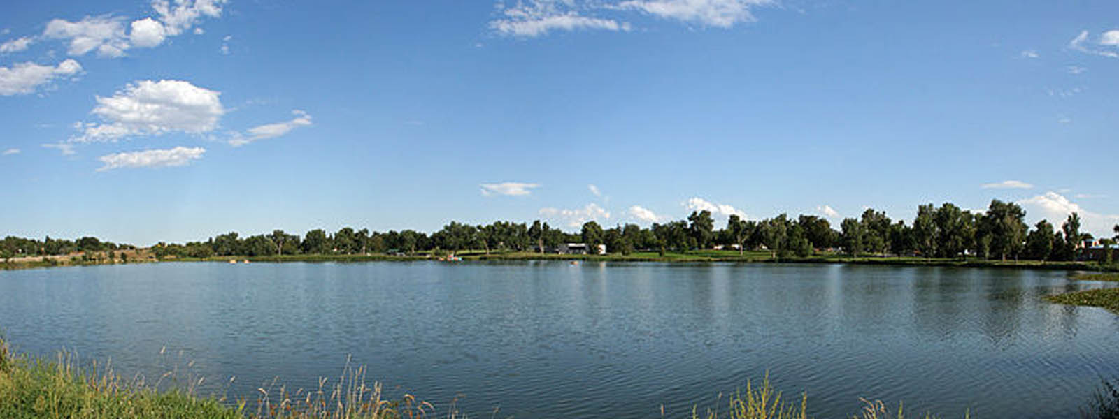Berkeley Lake Park in Berkeley Denver Colorado