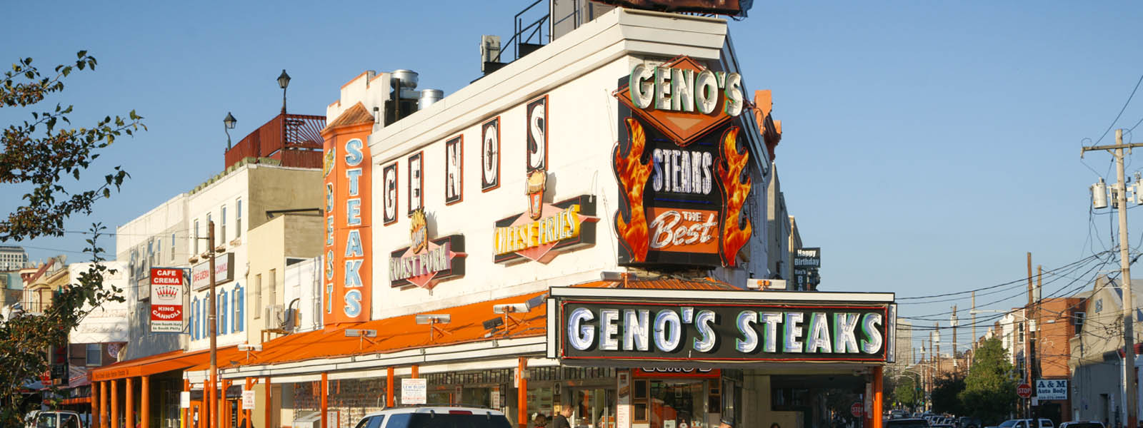 Geno's Philly Cheese Steaks in Philadelphia