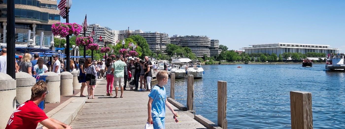 A Guide to the Waterfront Neighborhoods of Washington D.C.