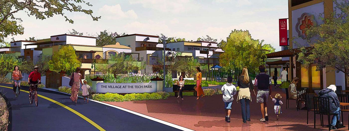 Tucson's UA Tech Park to Create Urban Village With Millennials in Mind