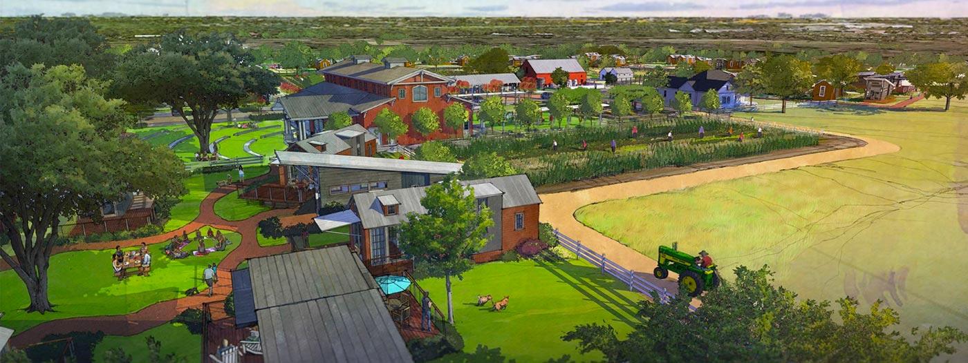 Village Farm Offers Austinites Tiny Home Agrihood Living