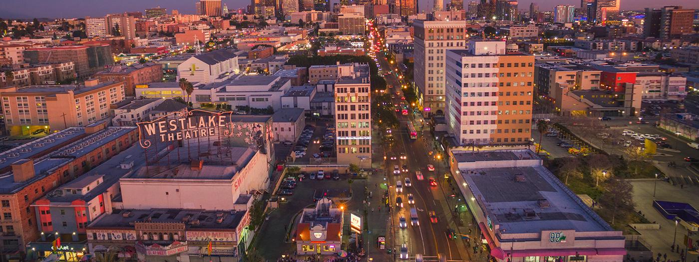 Is anyone noticing the development boom in LA's Westlake neighborhood?