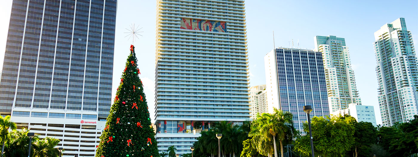 4 of the Best Miami Neighborhoods for Celebrating the Holidays