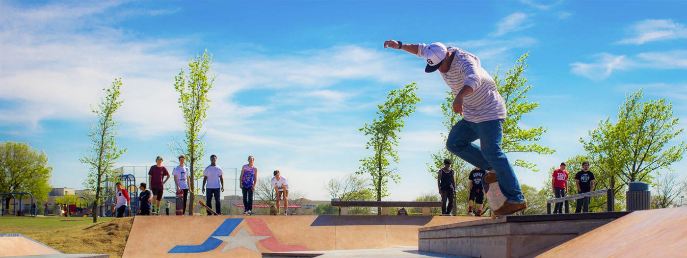 Title photo - Where to Find the Hidden Skate Park Scene in Dallas-Fort Worth