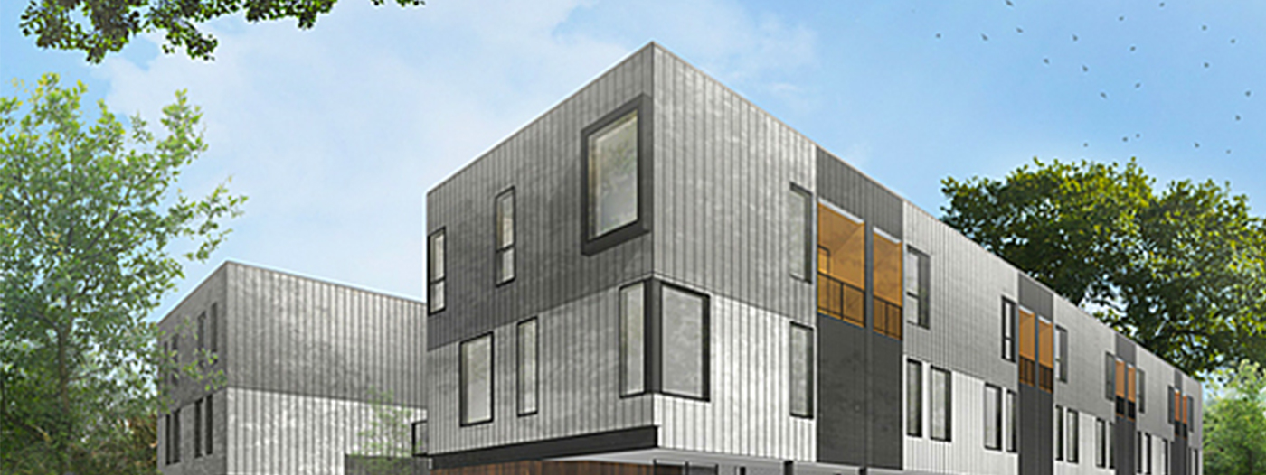 Contemporary Three-Story Townhomes Coming to Trendy West Dallas Neighborhood