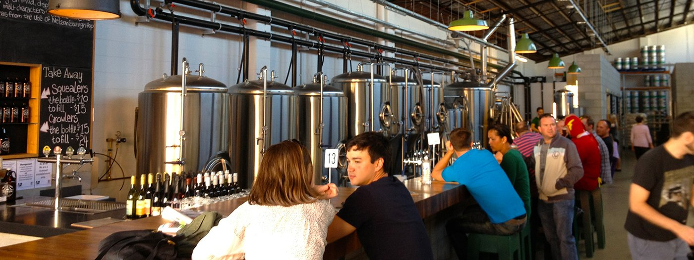 Title photo - Does the arrival of a craft brewery really signal a neighborhood revitalization?