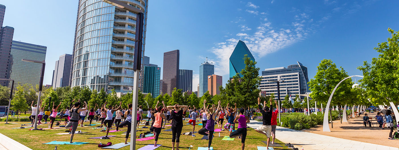 Four New Parks Will Color Downtown Dallas a Darker Shade of Green