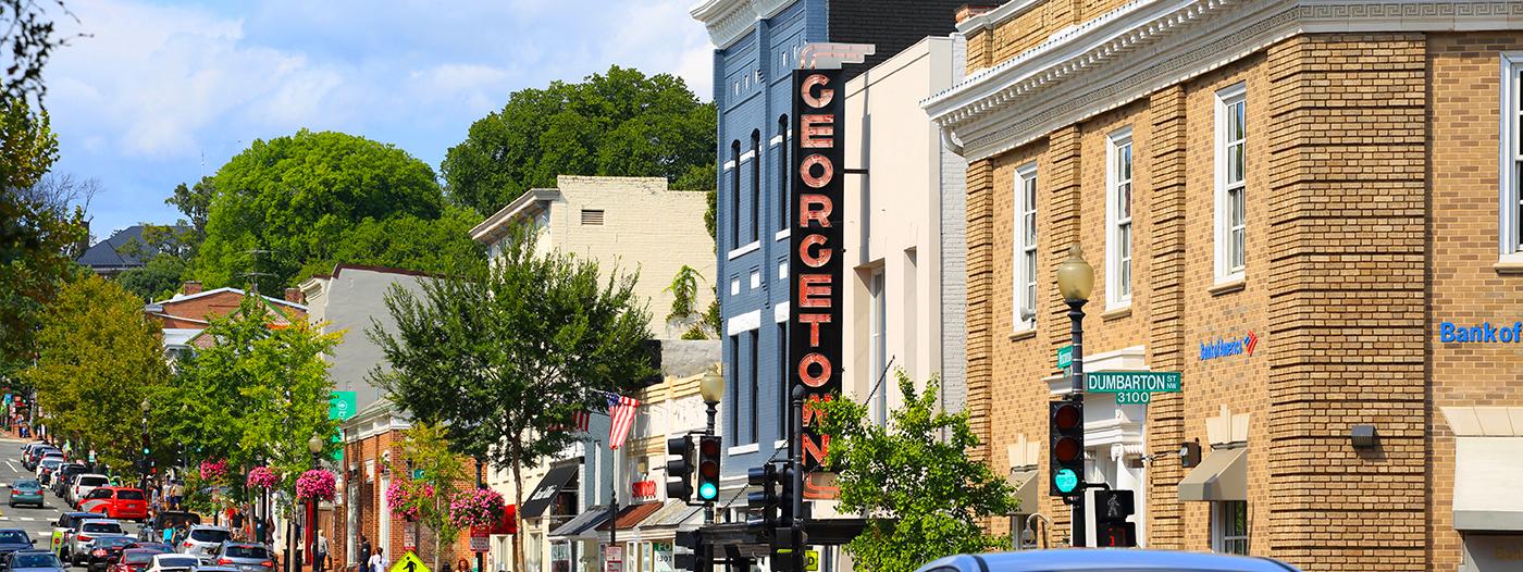 Meet My Neighborhood: Georgetown, Washington D.C.