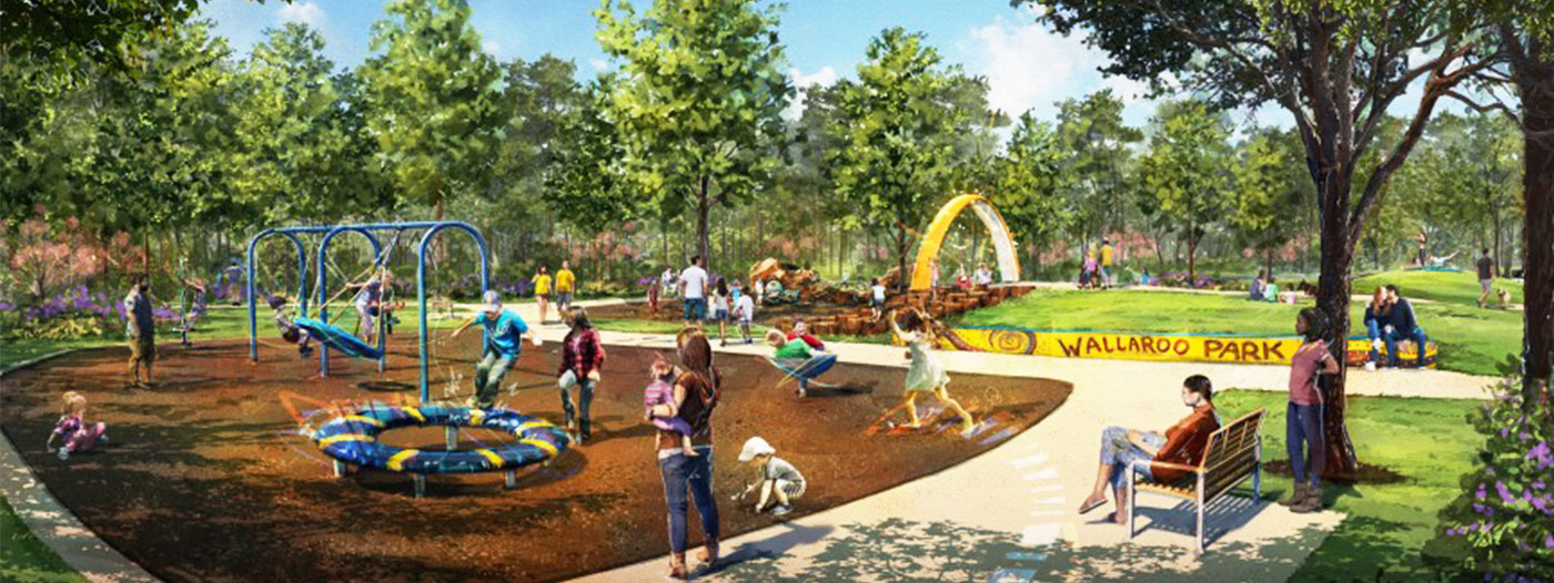 Houston Master-Planned Community First to Offer Innovative Playground