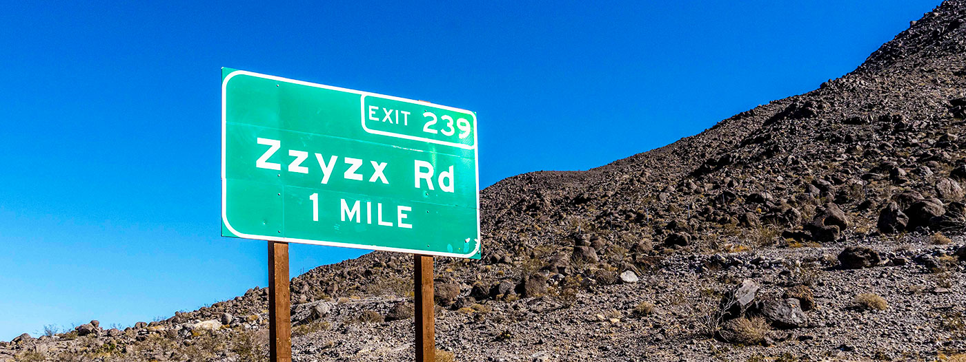 Why are there so many odd street names in Las Vegas?
