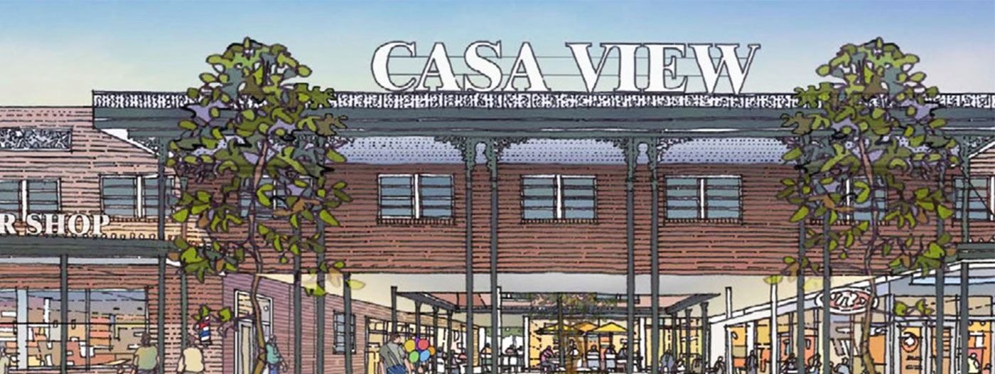 64-Year-Old Casa View Village Shopping Center Gets a Next-Generation Upgrade