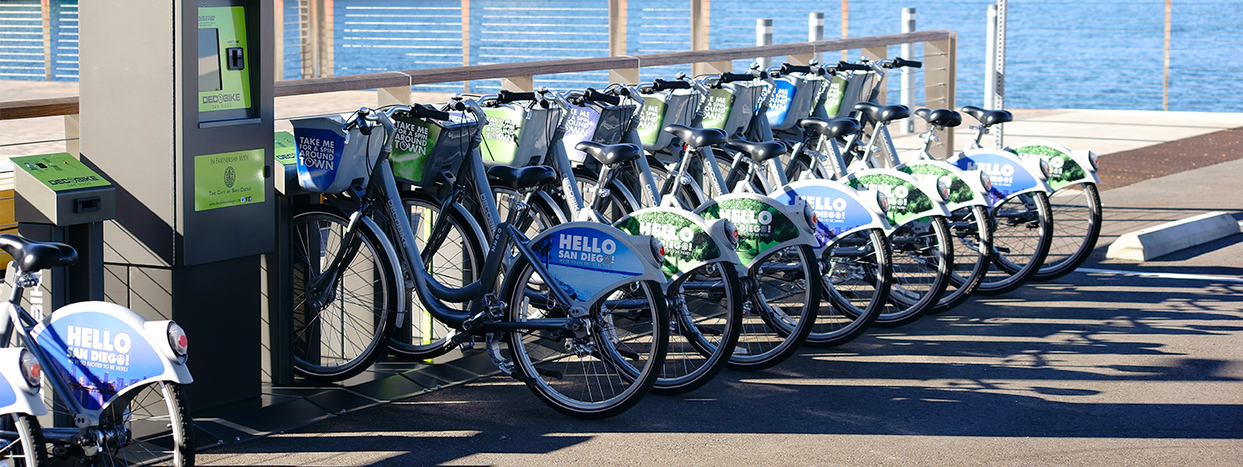 Dockless Bike Sharing Could Be Coming to San Diego