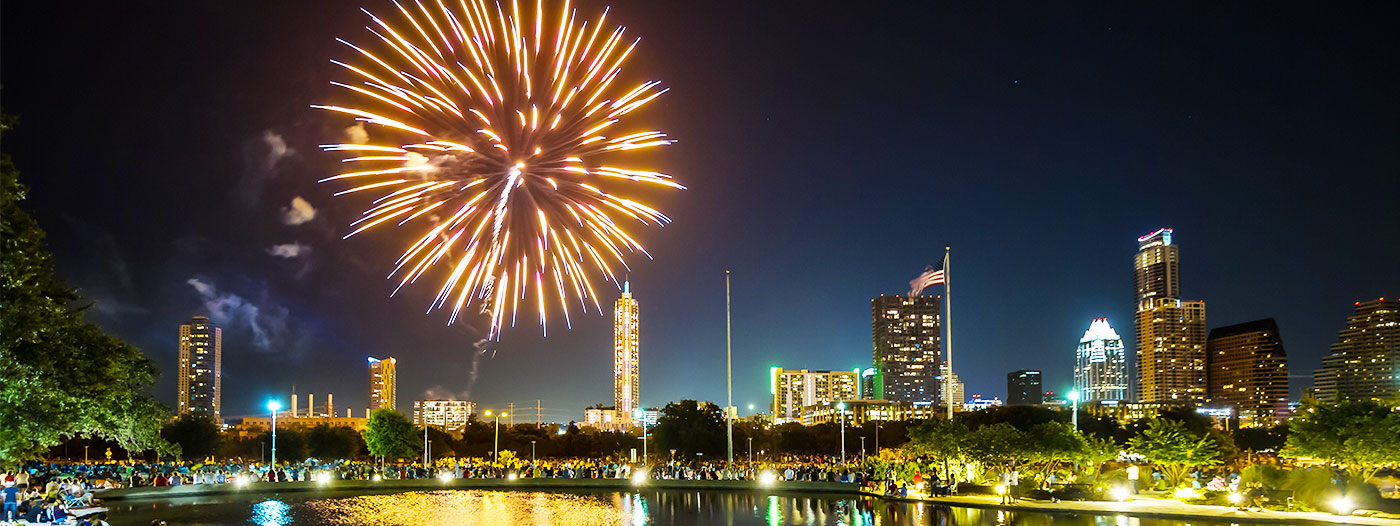 The 4 Best Austin Neighborhoods for Watching 4th of July Fireworks