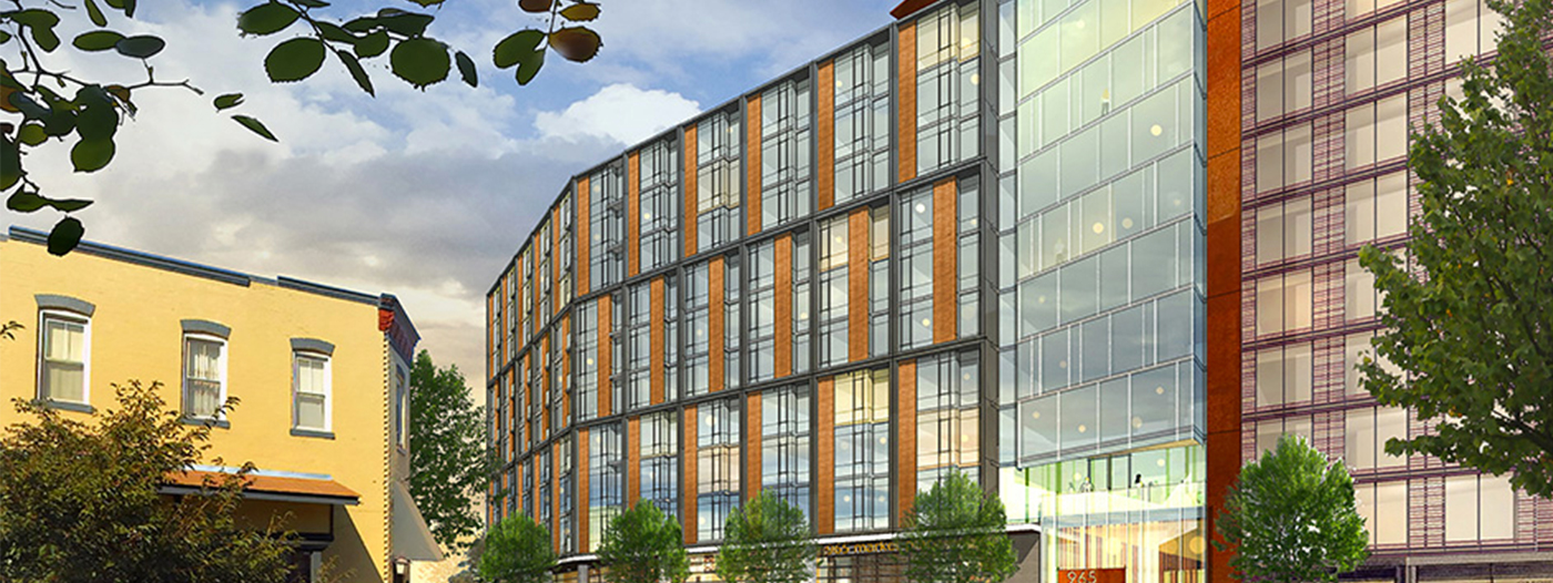 Title photo - Ground Breaks on Shaw Mixed-Use Development