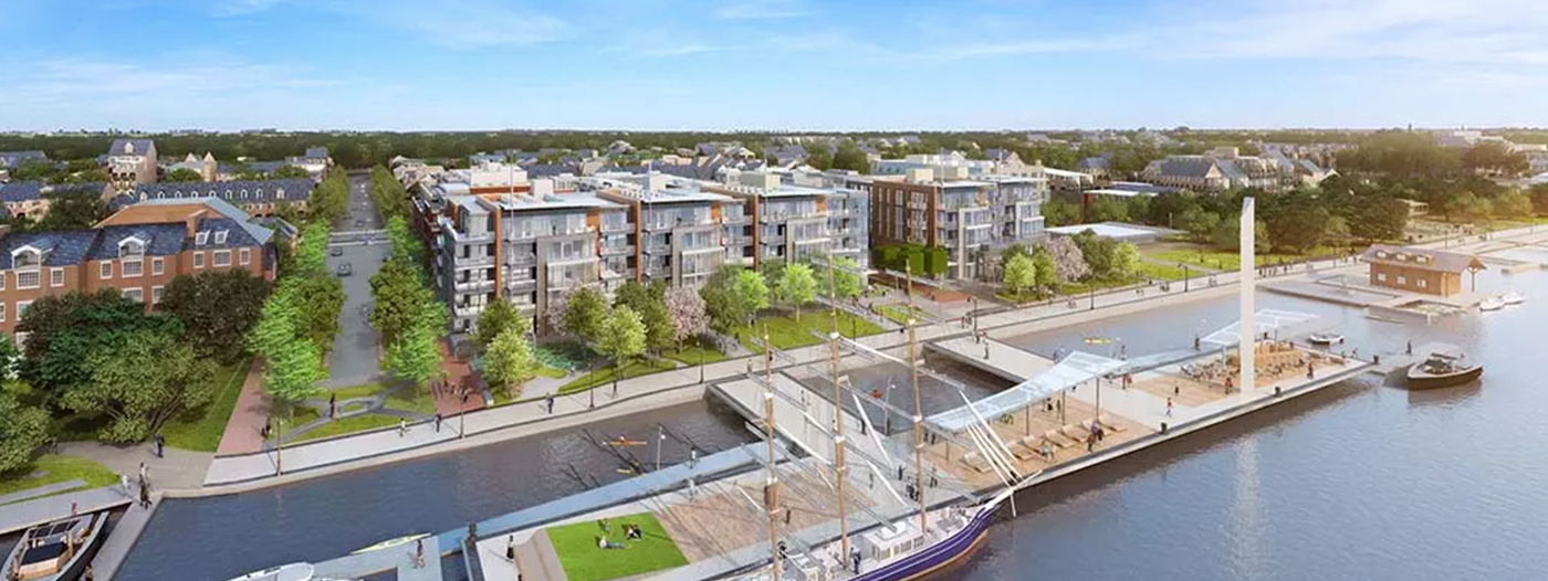 Waterfront Condos and Townhomes For Sale in Old Town Alexandria