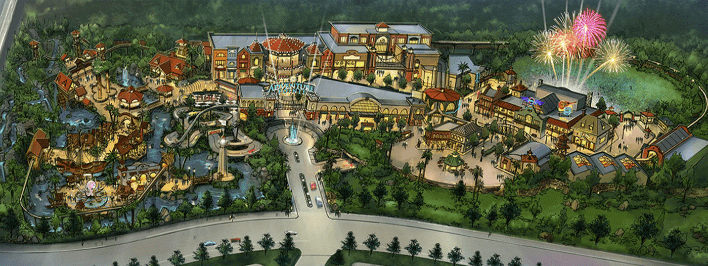 Title photo - Amusement Park Planned Southeast of Houston Moving Forward