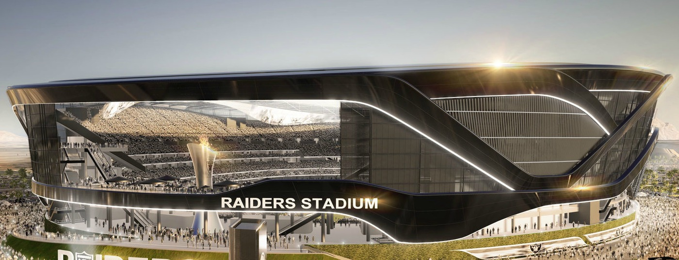 Raiders' Proposed Las Vegas NFL Stadium Offers Sleek Design, Strip Views