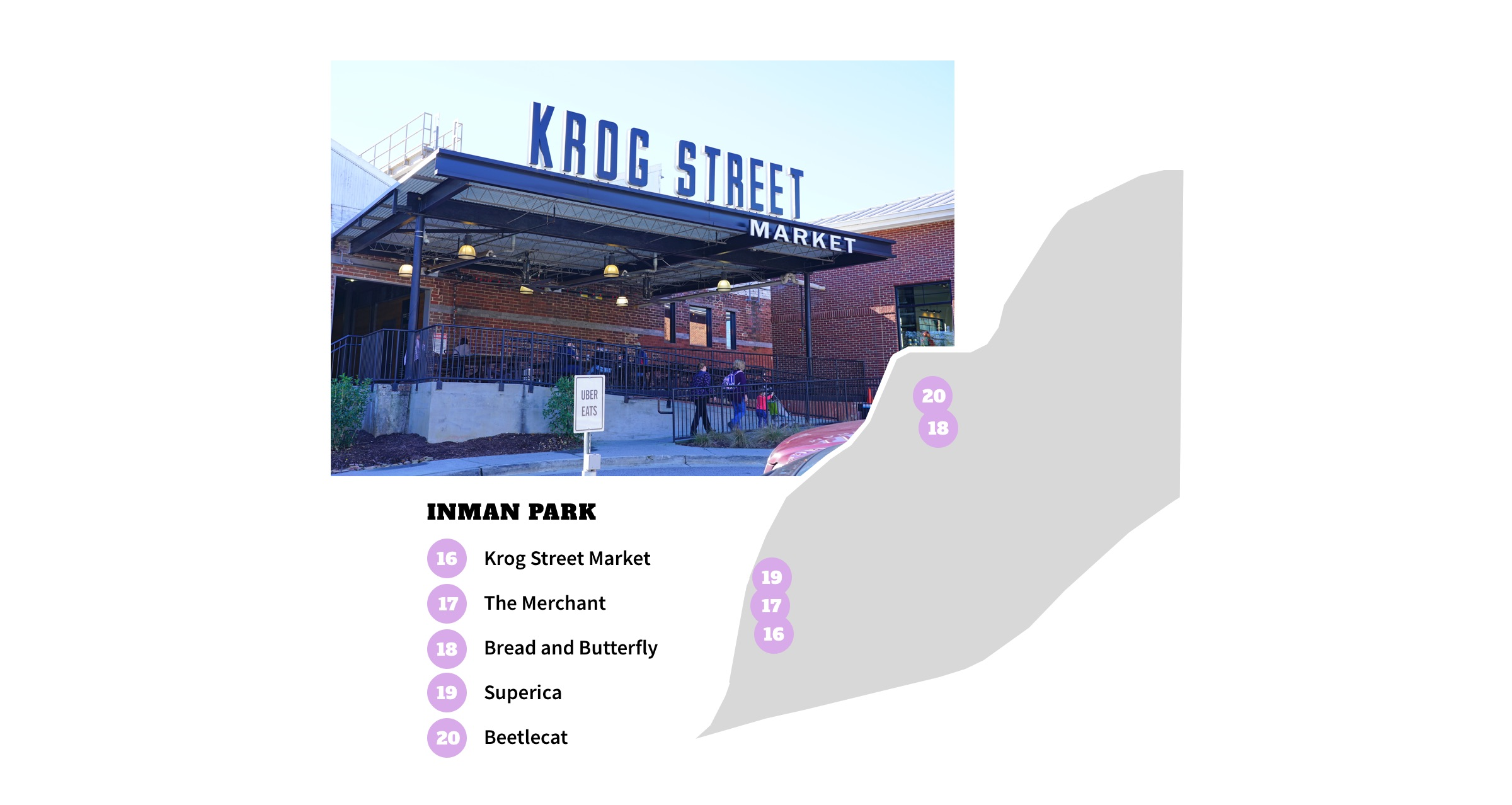 Inman Park Neighborhood Map - Atlanta