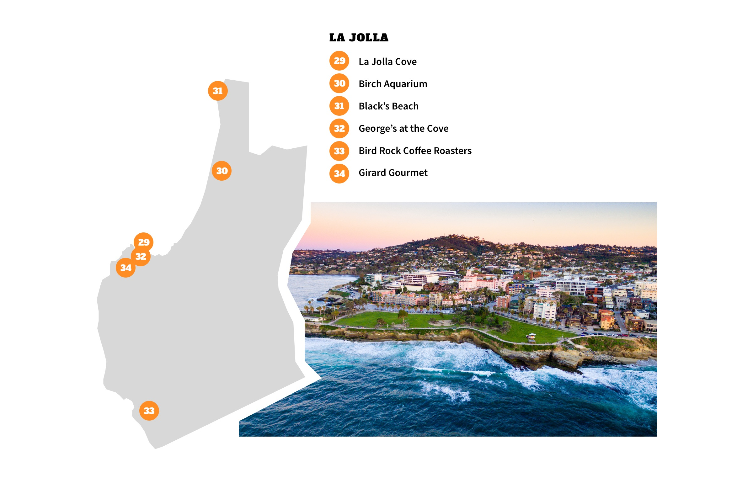 La Jolla, San Diego Neighborhood Map