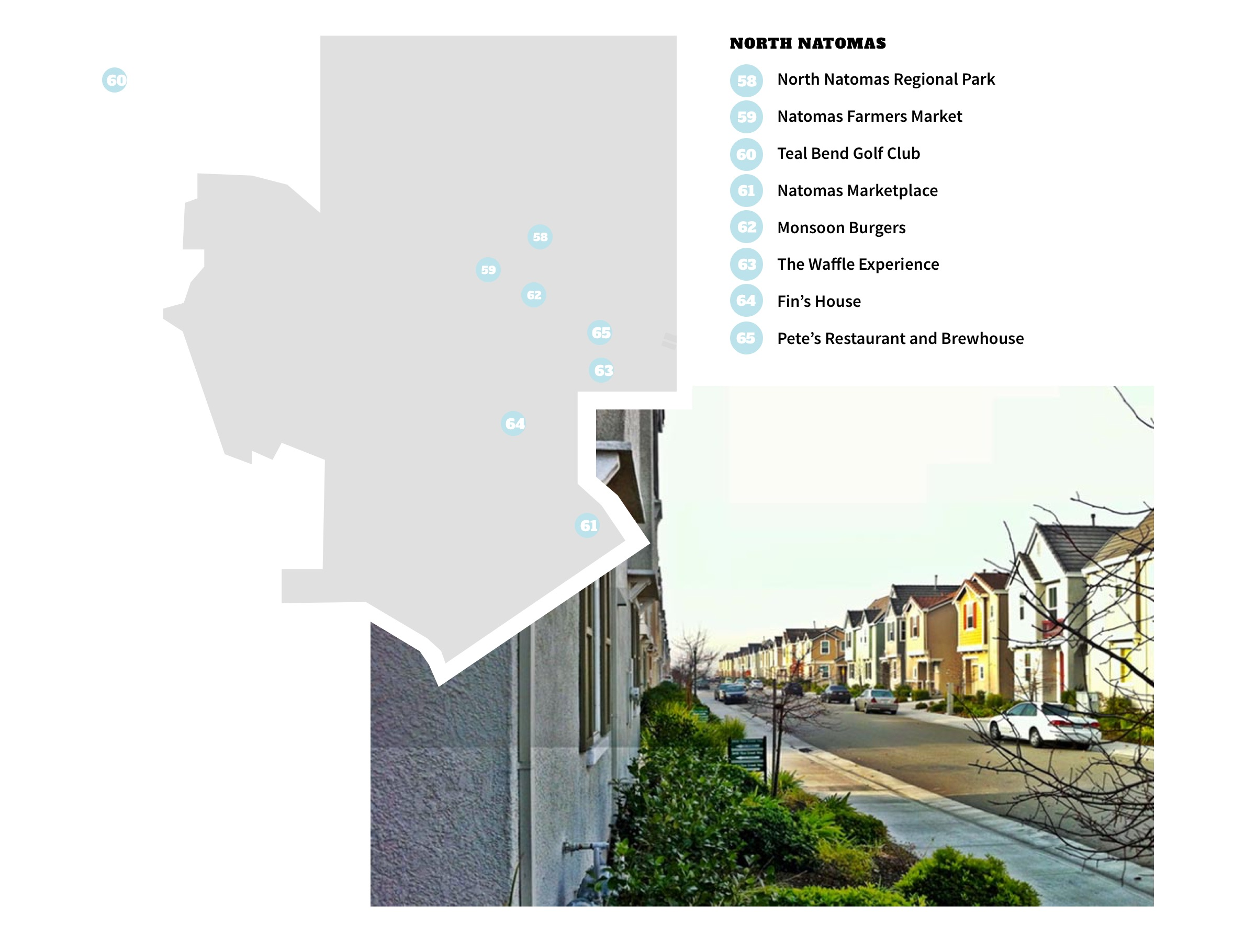 North Natomas Neighborhood Map