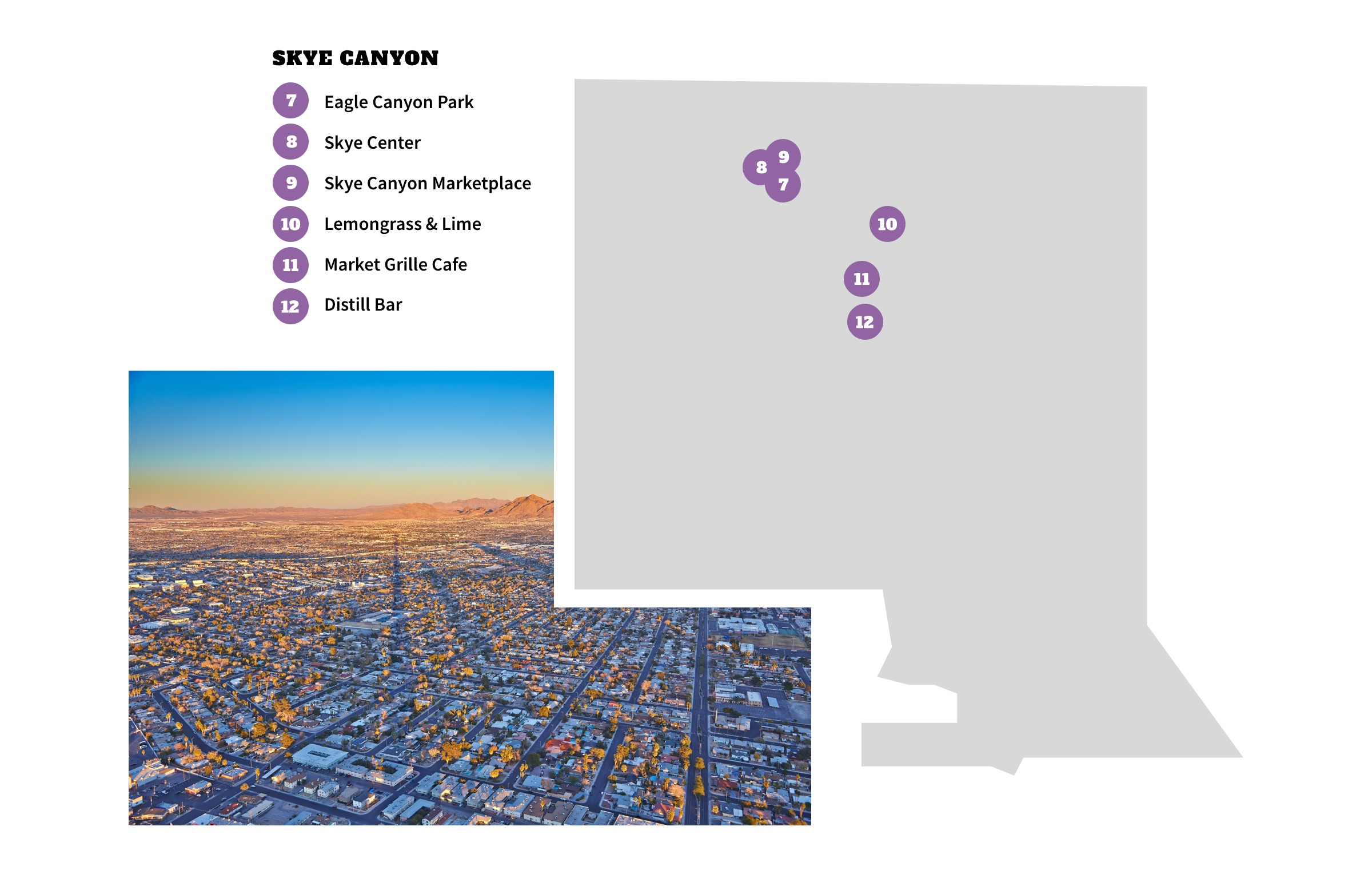 Skye Canyon Neighborhood Map - Las Vegas