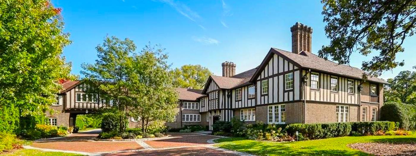 Mr. T's Lake Forest Tudor Revival Mansion Hits the Market at $7.5 Million