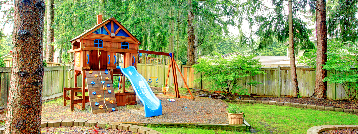 Title photo - Backyard Playgrounds: To Build or Not to Build