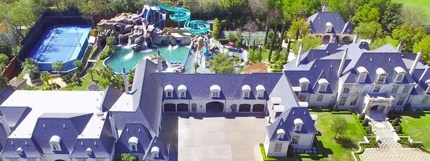 This $32M Dallas Estate Comes With Its Own Water Park